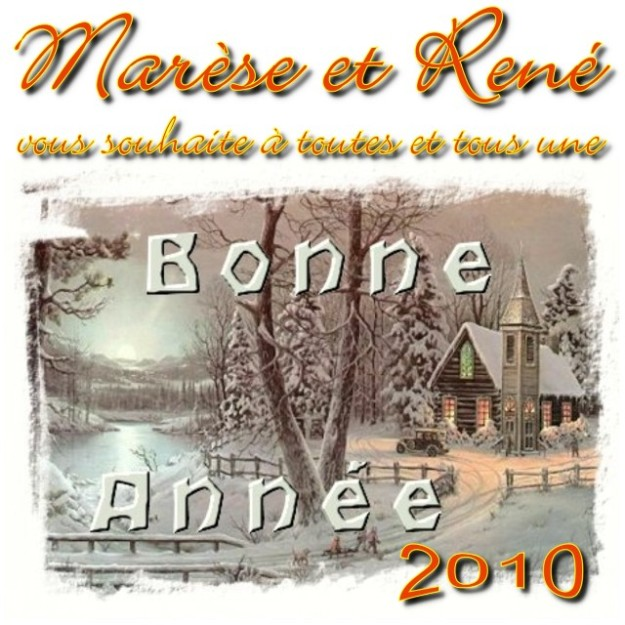 Marèse et René (Bonne Année 2010)